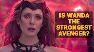 Here's Why Scarlet Witch Is the Strongest Avenger