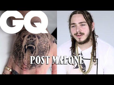 Post Malone révèle le secret de ses tatouages