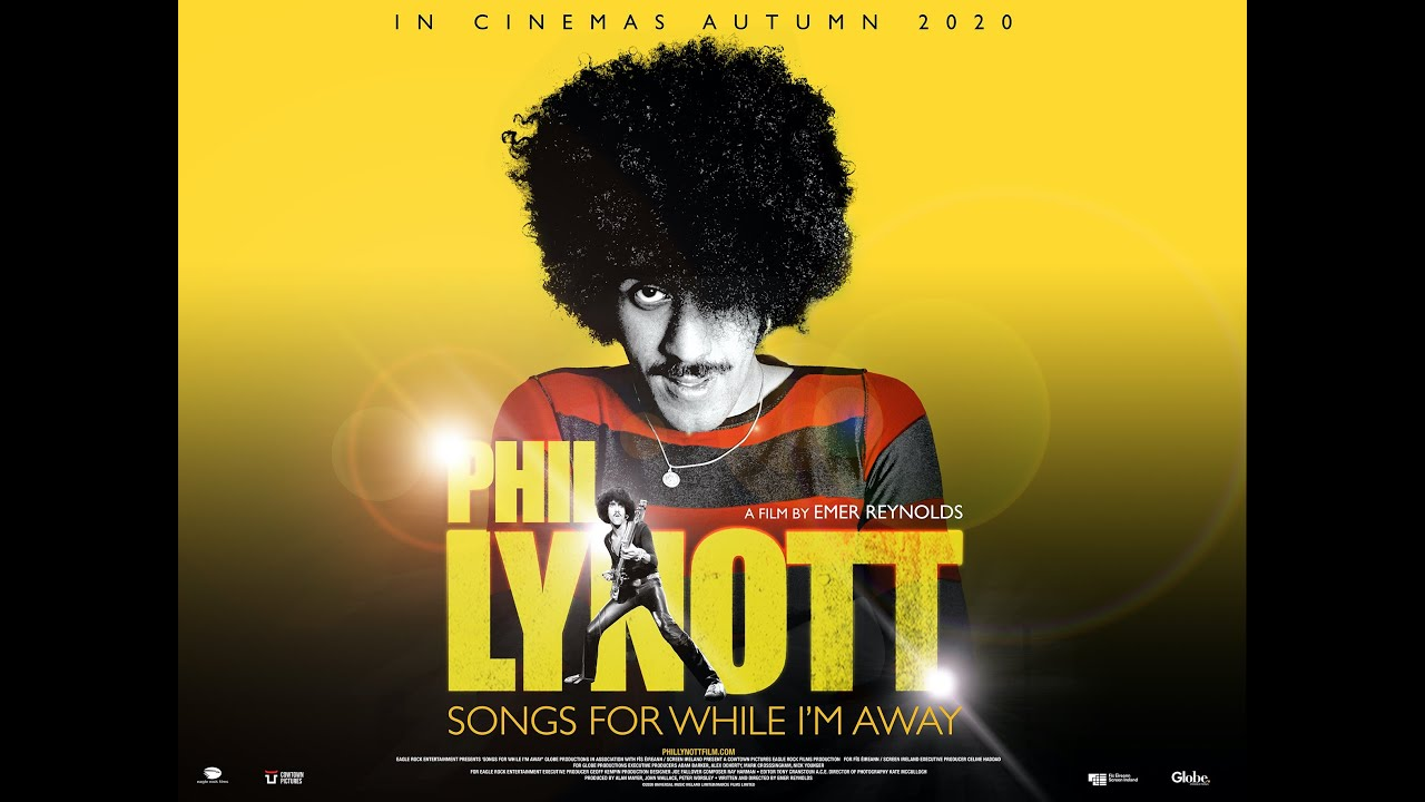 Phil Lynott: Songs for While I'm Away Official Trailer- In Cinemas This Autumn
