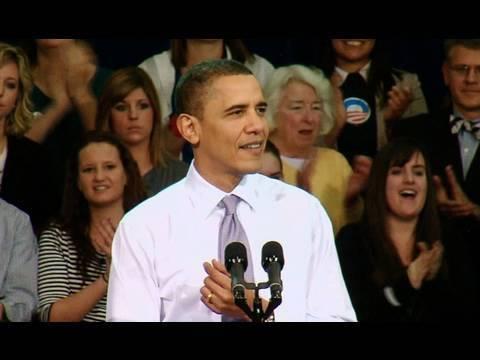 President Obama Speaks about Health Reform in Iowa City