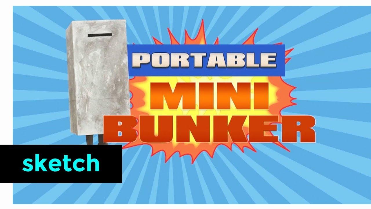 Portable Mini Bunker | Klokko