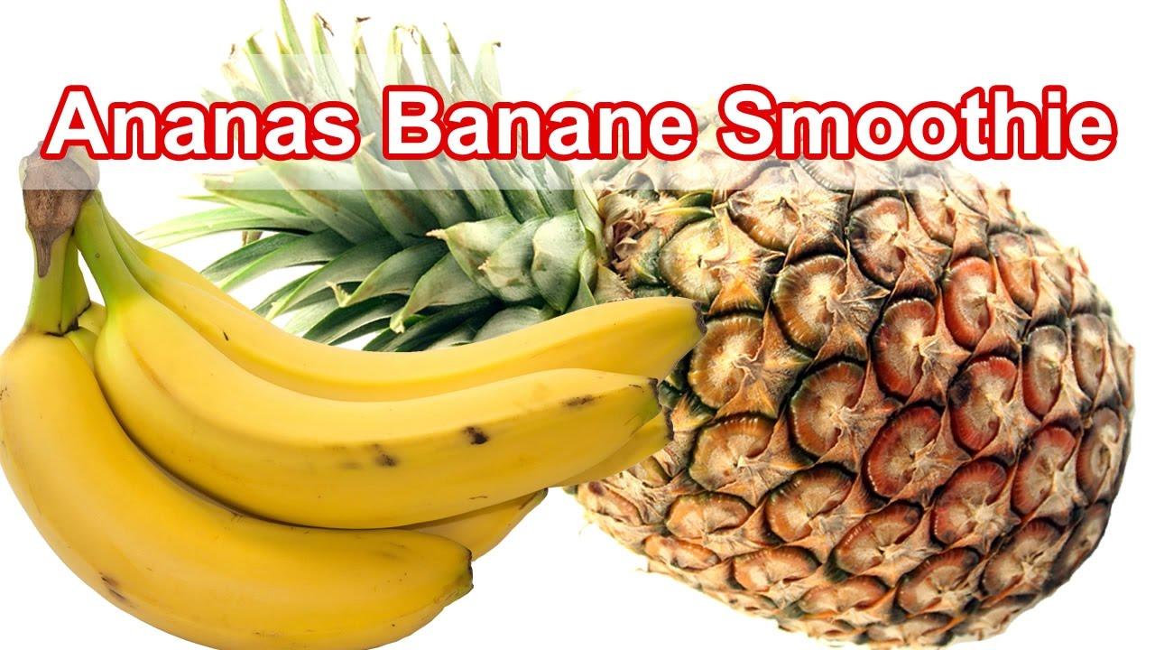 ananas bananen smoothie youtube. Black Bedroom Furniture Sets. Home Design Ideas