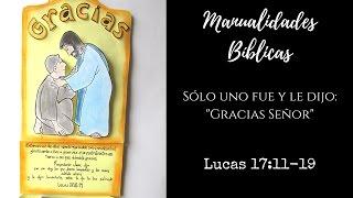 Manualidades Bíblicas, Lucas 17:11-19, Los diez leprosos
