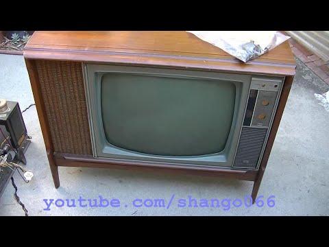 RCA CTC 35A Color Tube Console TV and Uship
