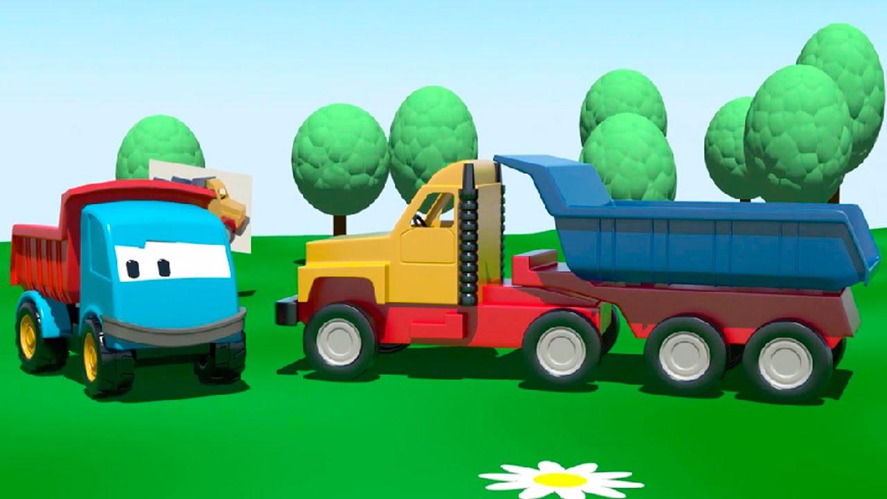 Cartoni Animati Per Bambini Leo E Il Grosso Camion Grosse Macchine Per Bambini Piccoli Youtube