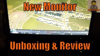 aOC e2460Sh Monitor  Unboxing & Review  My New Monitor