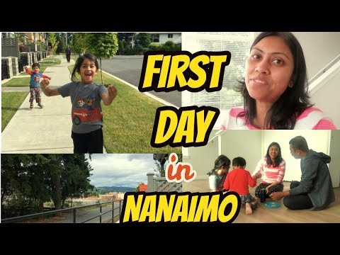 1st Day in New House - Nanaimo, Vancouver Island , Canada I Journey Begins!! I Happy Home Happy Life
