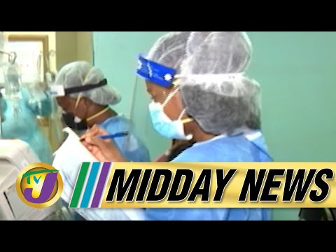 FEAR - 54% Covid Positivity Rate amid Oxygen Shortage in Jamaica | TVJ Midday News - August 29 2021