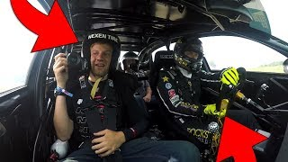 Riding in Tanner Foust's Drift Taxi at Gridlife Midwest!
