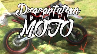 PRESENTATION DE MA MOTO / APRILIA SX50