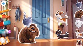 Макс и его Друзья в МАКДОНАЛЬДС ! Полная Коллекция Игрушек Тайная Жизнь Домашних Животных max топ