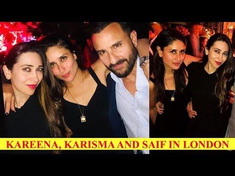 Kareena Kapoor Khan, Saif Ali Khan and Karisma Kapoor party hard in London, pics go viral Mp3