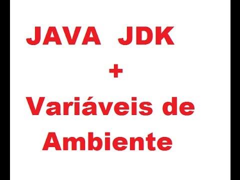 Instalar Java + JDK Em Windows 7, XP, 8, 8.1