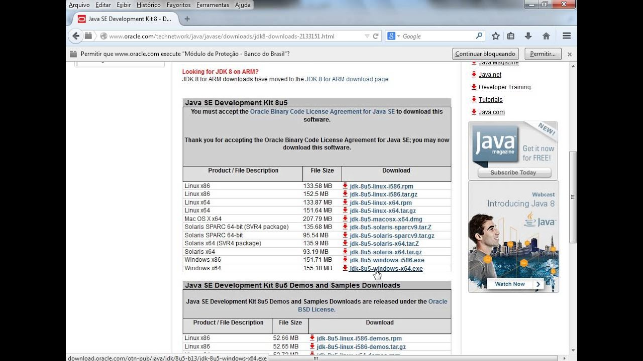 java oracle for windows xp free download