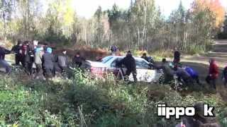 SM Pirelli Ralli 2014 Tampere (Incl. 4offs and mistakes)