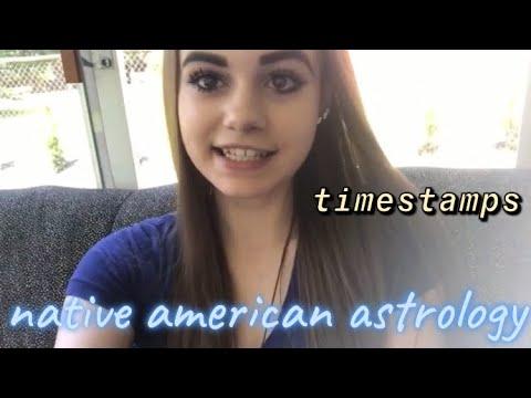 NATIVE AMERICAN ASTROLOGY: Signs & Tarot Readings E13