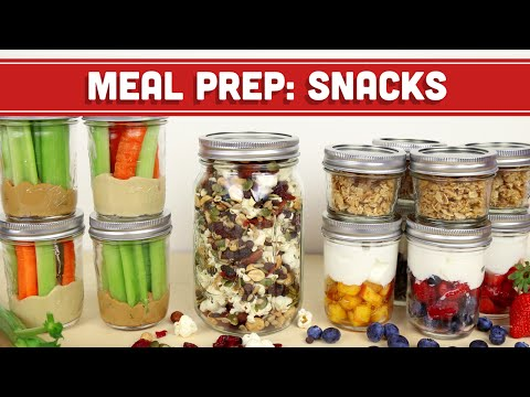 Meal Prep: Healthy Snack Back To School Ideas! Mind Over Munch