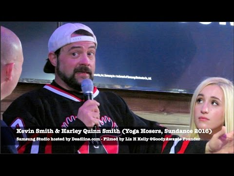 Kevin Smith asks Johnny Depp to cast daughter in Tusk at Yoga Hosers at Sundance 2016