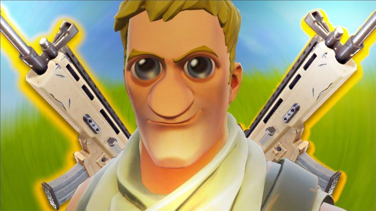 Ali Fortnite Default Meme Face