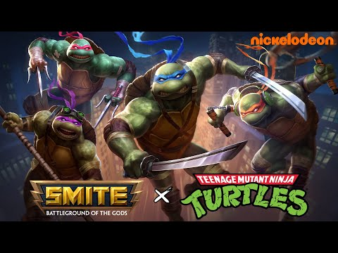 Teenage Mutant Ninja Turtles Crossing Over With Smite For Themed Skins