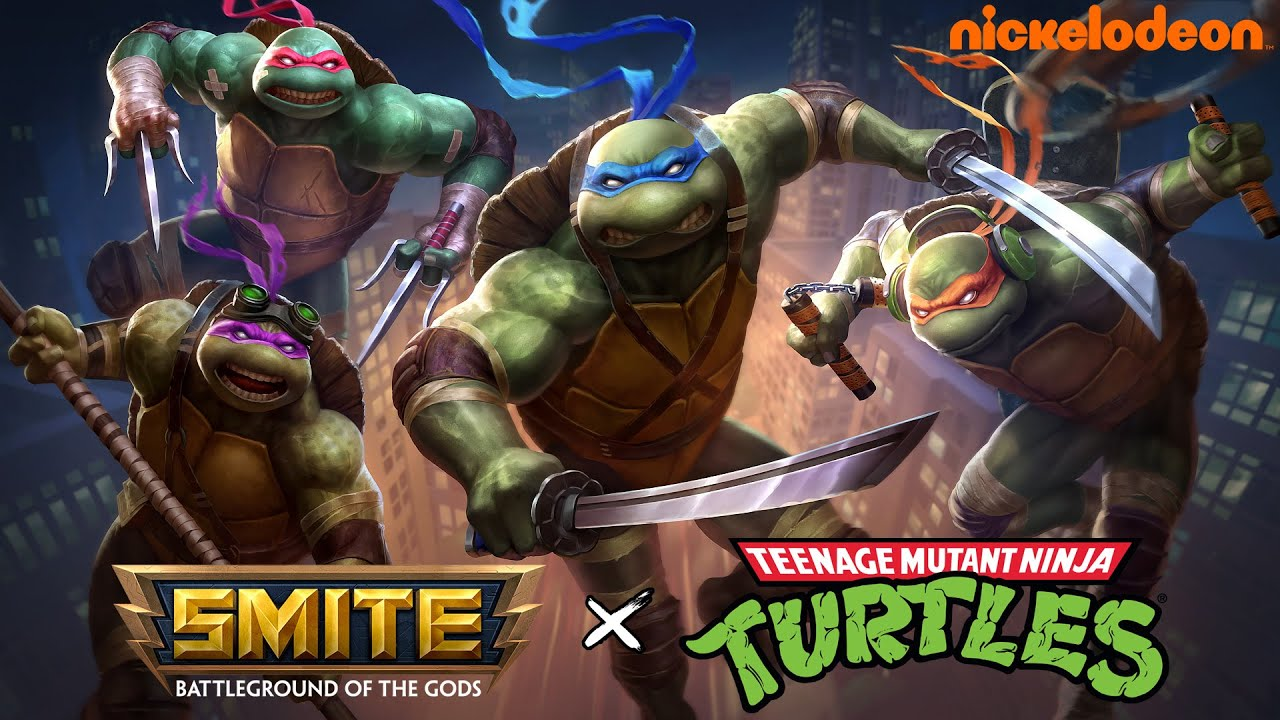 SMITE - TMNT Battle Pass - Available November 2020