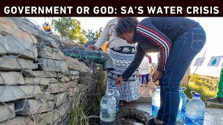 South Africa will not have enough water for its citizens by 2030. That's according to the Department of Water and Sanitation in their 2018 master plan. And there's a range of reasons - drought, infrastructure, management, politics, lack of accountability, and a constant blame game. EWN investigates how South Africa reached this point, who is responsible, and what plans government has, to rectify the situation.  Click here to subscribe to Eyewitness news: http://bit.ly/EWNSubscribe   Like and follow us on: http://bit.ly/EWNFacebookAND https://twitter.com/ewnupdates   Keep up to date with all your local and international news: https://ewn.co.za     Filmed and Edited by: Thomas Holder Produced by: Thomas Holder