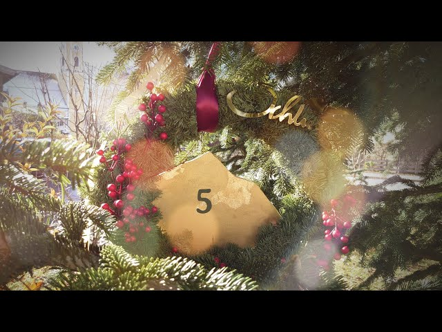 5 | Schlierseer Adventskalender 2020 | Weihnachtsbaum Türchen