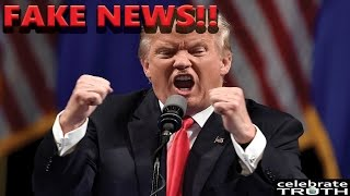 "TRUMP BLASTS Mainstream News CNN as ""FAKE NEWS"" at Live Press Conference!"