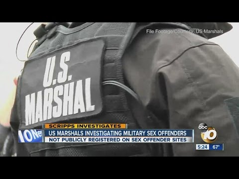 U.S. Marshals 'actively' investigating unregistered sex offenders in military