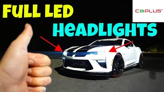 Hero Quad LED Headlights 2017 Camaro
