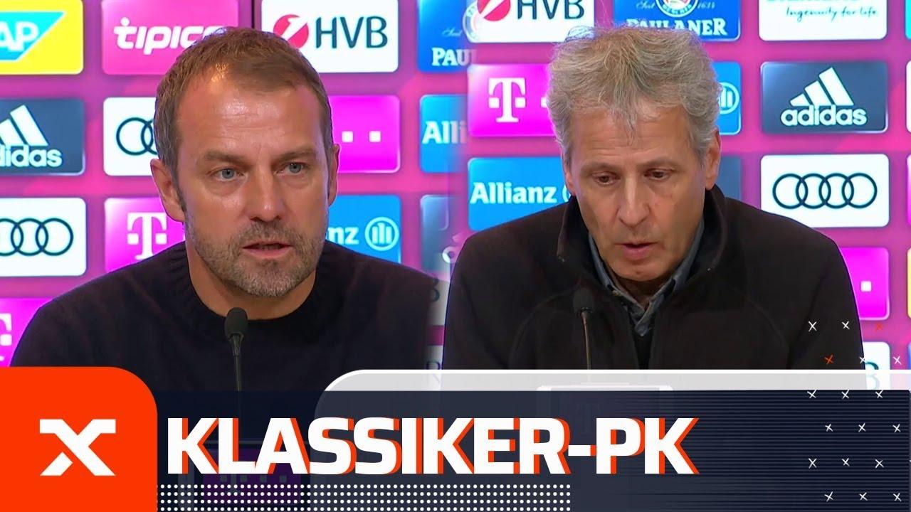 """""""Fußball, den die Leute sehen möchten"""": Flick und Favre nach FC Bayern - Borussia Dortmund"""