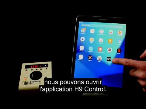 Démarrer avec H9 Control pour machines Android