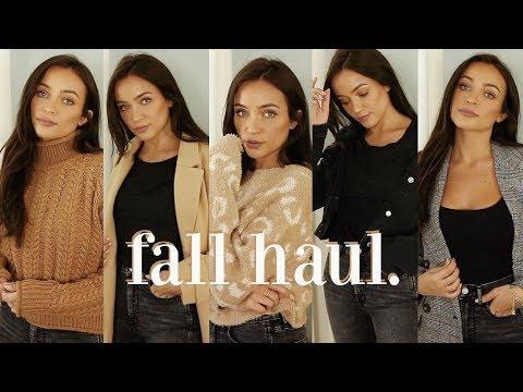 FALL CLOTHING HAUL: basic pieces you need thumbnail