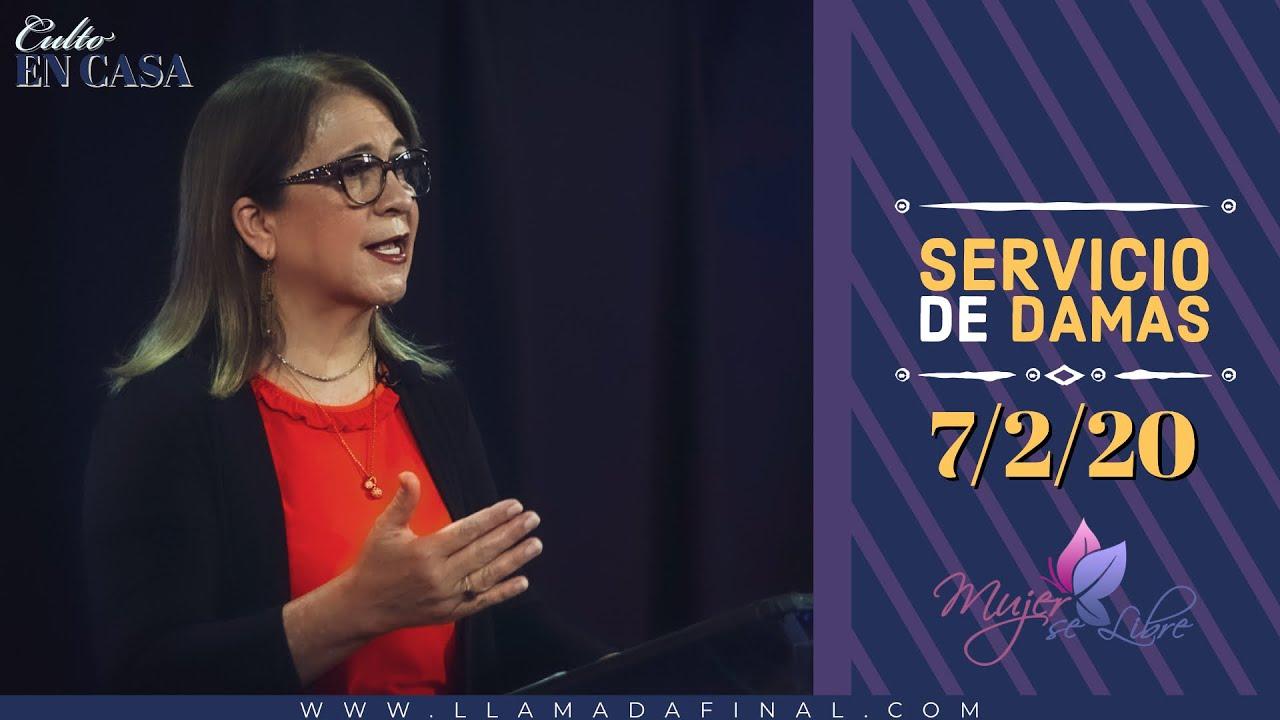 Mujer Se Libre | Pastora Martha J. Azurdia | www.llamadafinal.com