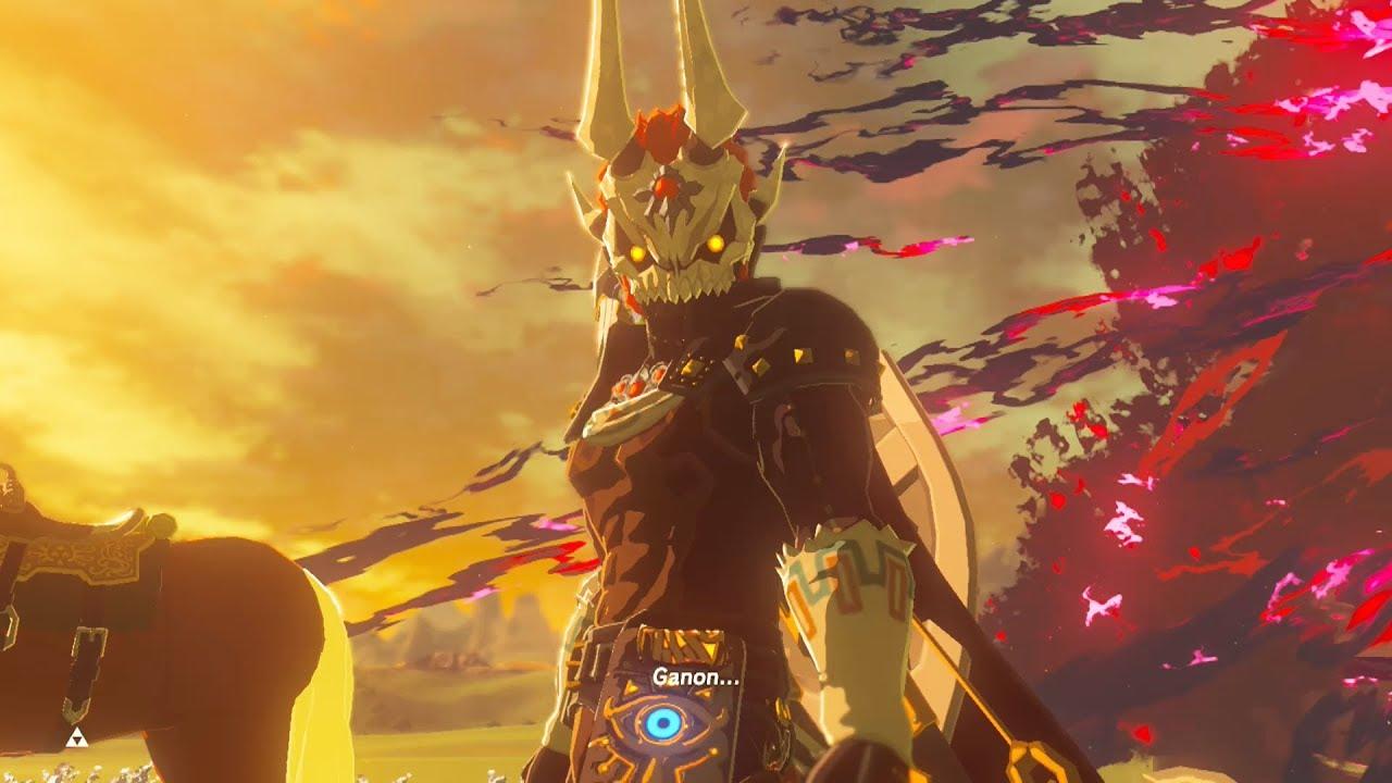 Phantom Ganon Vs Calamity Ganon On Master Mode Zelda Breath Of The Wild