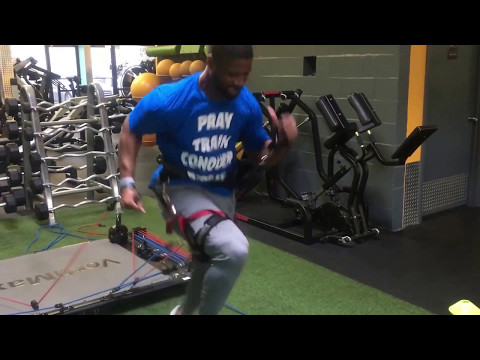 AFL/CFL - DB Mike McMillan  Speed+Agility Training JB Barnes