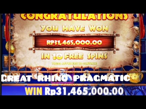 modal-tahun-baru!!!-31jt-gengs!!!-great-rhino-pragmatic-#slot-#slotonline-#slotjackpots