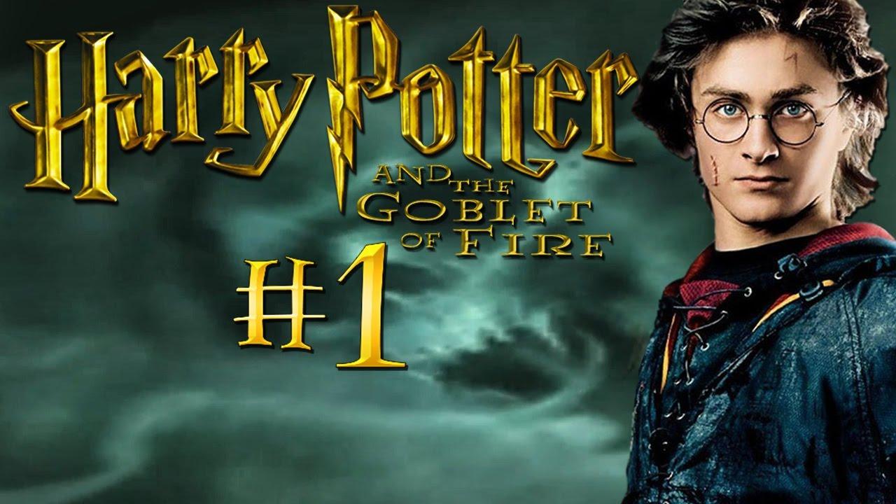 Гарри Поттер и Кубок Огня - Прохождение #1 - YouTube