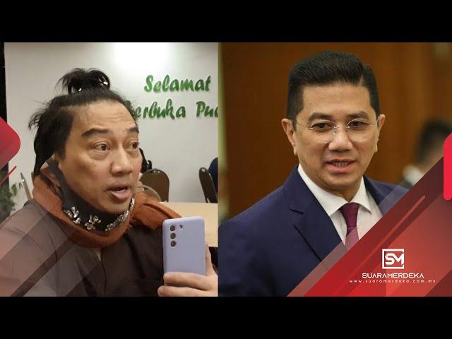 Azwan Ali anggap Aidilfitri sudah tiada erti, hanya sedia untuk berdamai dengan Datuk Seri Azmin Ali