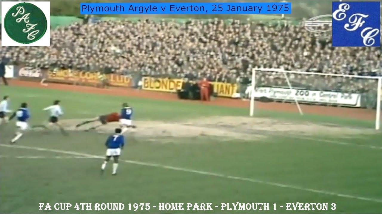 PLYMOUTH ARGYLE FC V EVERTON