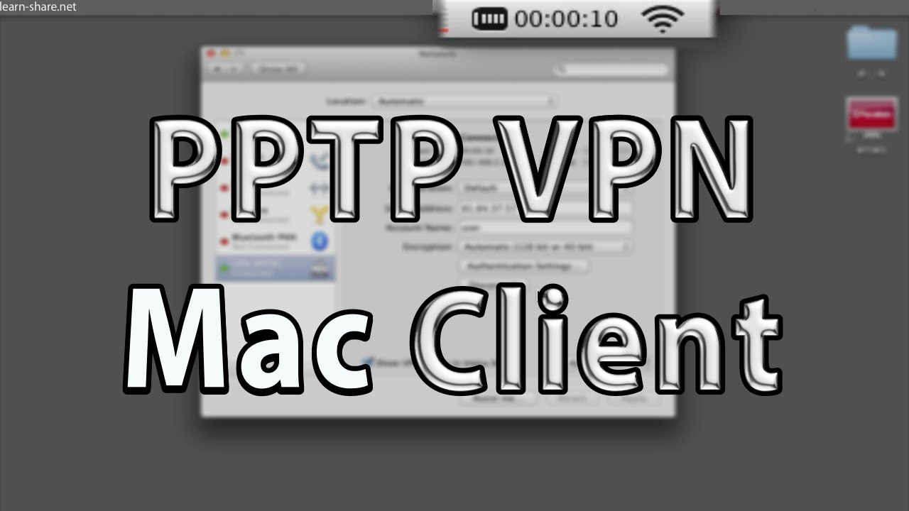 free pptp vpn client for mac