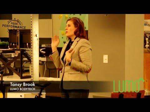 """SF Peak Performance"" Meetup 04: Part 4. Tansy Brook of Lumo Bodytech"