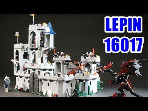 Lepin 16017 Kings Castle Siege Youtube
