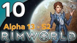 Rimworld Alpha 13 - 10. Defensive Plans - Let's Play Rimworld Gameplay