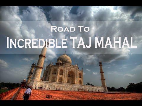 NEW DELHI TO AGRA   Road to Taj Mahal   Roadtrip   HD