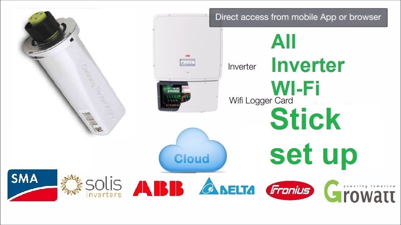 how to set up w-ifi stick in Solis inverter | Solis Data Logger Setup