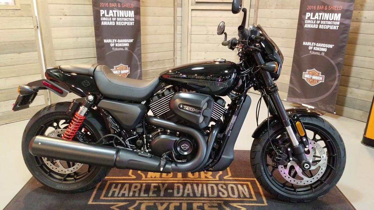 2017 street rod 750 xg750a vivid black-for sale harley davidson