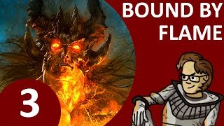 Let's Play Bound By Flame Part 3 - Act 1, Chapter 1: A Village of Refugees (PS4 Pyromancer Buffalo)
