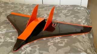 Balsa Stryker . A Stryker -like Pusher Rc Jet Plane In Balsa Wood (my Own Plan & Build)