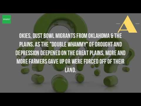 What Is An Okie From The Great Depression?